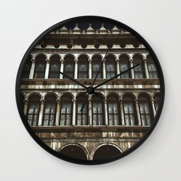 Facade on Piazza San Marco Wall Clock