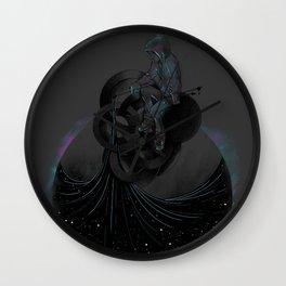 Paint the Black Hole Blacker Wall Clock