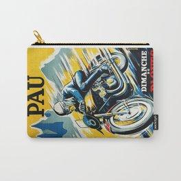 Grand Prix de Pau, Race poster, vintage motorcycle poster, retro poster, Carry-All Pouch