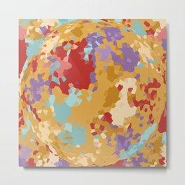 Color Crystall Ball Metal Print