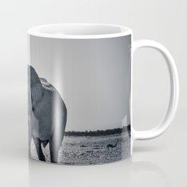 Large Bull Elephant Coffee Mug
