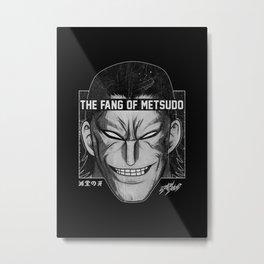 Kanoh Agito Kengan Ashura Omega Metal Print