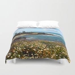 La Jolla Cove, California, Spring Duvet Cover