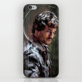 Occhi bassi iPhone Skin