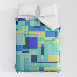 Digital geometric design 3 Comforters