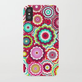 Bright Flower Dash iPhone Case