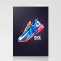 nike Stationery Cards featuring NIKE ZOOM by Ian Quijano