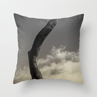 naked Throw Pillows featuring Naked by Fine2art