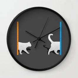 Portal Cat Wall Clock