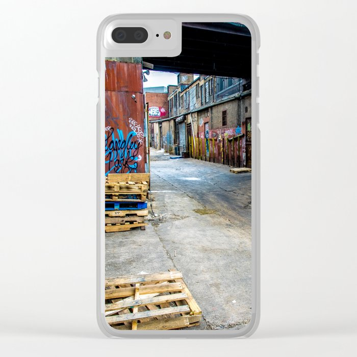 Mean Streets Clear iPhone Case