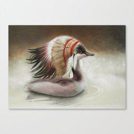 Little Duck. Canvas Print
