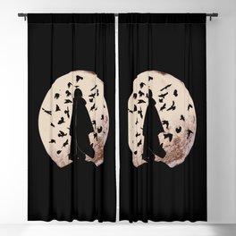 Uchiha Silhouette Blackout Curtain