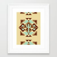 southwest Framed Art Prints featuring Southwest by S. Vaeth