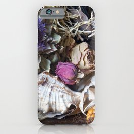 FLORAL STILL LIFE - Autumn Feeling iPhone Case