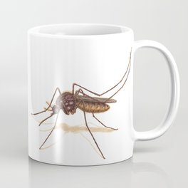 Mosquito by Lars Furtwaengler | Colored Pencil / Pastel Pencil | 2014 Coffee Mug