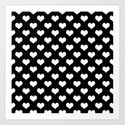 Black White Hearts by beautifulhomes