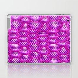 Magenta Snake Skin Pattern Laptop & iPad Skin