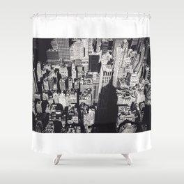 Empire's Shadow Shower Curtain