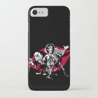 rocky horror iPhone & iPod Cases featuring Rocky Horror Gang by Billy Allison