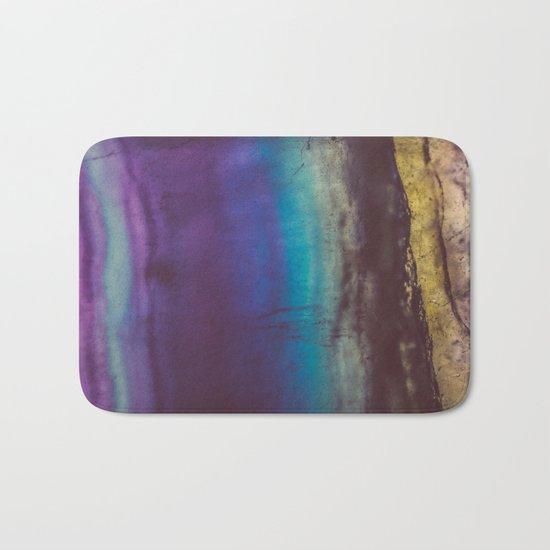 Bohemian Blue Earth Bath Mat