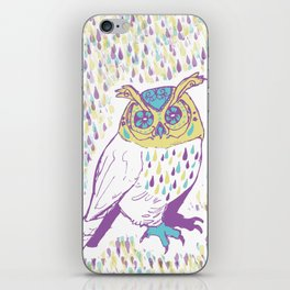 The second owl iPhone Skin