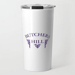 Butchers Hill Classic Style Logo Travel Mug