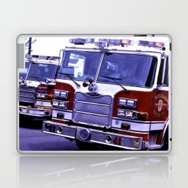 Those Wonderful Fire Trucks Laptop & iPad Skin