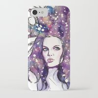the moon iPhone & iPod Cases featuring moon by Beth Jorgensen