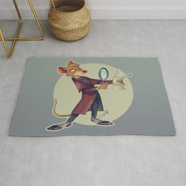 Basil, the great mouse detective! Rug