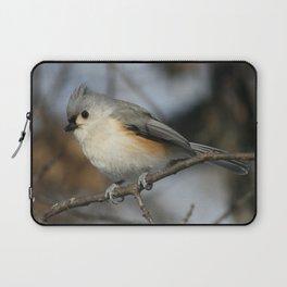 Tufted Titmouse Bird Laptop Sleeve