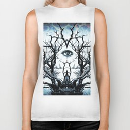 Tree of Life Archetype Religious Symmetry Biker Tank