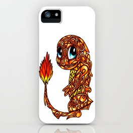 Stained glass Char iPhone Case