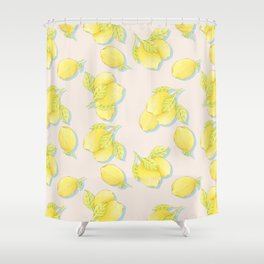 Limões Shower Curtain