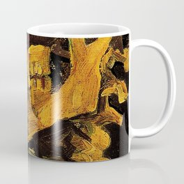 Van Gogh, Skull of a Skeleton with Burning Cigarette  – Van Gogh,Vincent Van Gogh,impressionist,post Coffee Mug