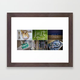 I'm Just Here In Love With You Framed Art Print