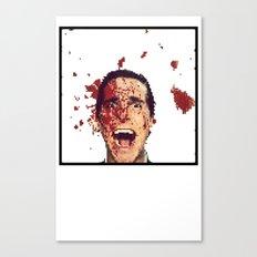 8-Bitman Canvas Print