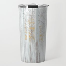White tree forest Travel Mug