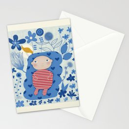 Welcome little one Stationery Cards
