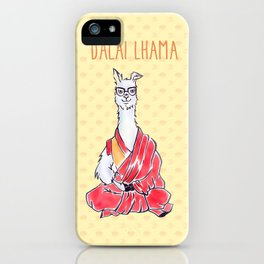 Dalai Lhama iPhone Case