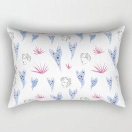 Begonia Gals Rectangular Pillow