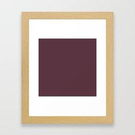 NEW YORK FASHION WEEK 2019- 2020 AUTUMN WINTER ROCKY ROAD Framed Art Print