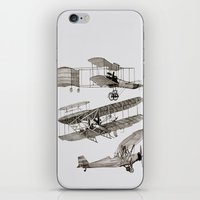 airplanes iPhone & iPod Skins featuring airplanes 3 by Кaterina Кalinich