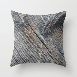 Diagonal wooden patterns - art decor Throw Pillow