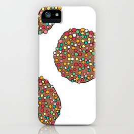 FRECKLES - WHITE iPhone Case