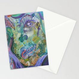 Sea Lady Stationery Cards