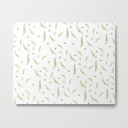 Greenery pattern Metal Print