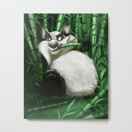 the guardian of the bamboo forest Metal Print