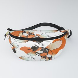 Koi Meditation Fanny Pack