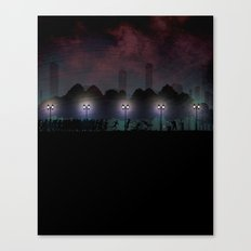 Supply Run Canvas Print