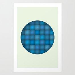 Secret Blue Art Print